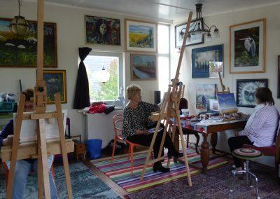 Workshop luchten/landschapschilderen